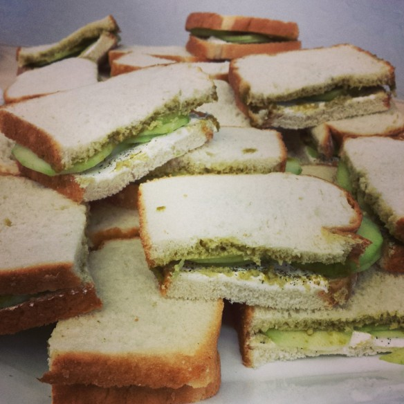 Cucumber and Chutney Sandwiches PK