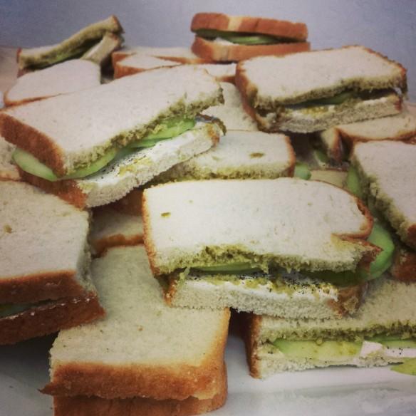 Cucumber and Chutney Sandwiches PK