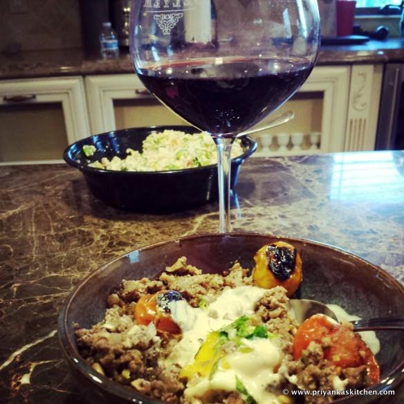 Lamb and Egg w Wine Glass PK